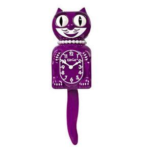 Urban Outfitters Boysenberry Lady Kit-Cat Clock
